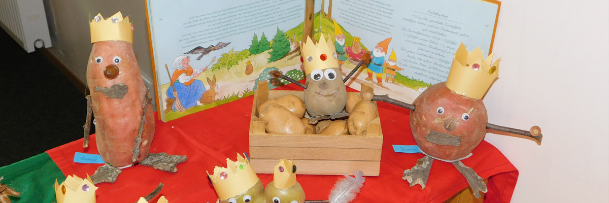 Kartoffelkönig Kindergarten Ameke
