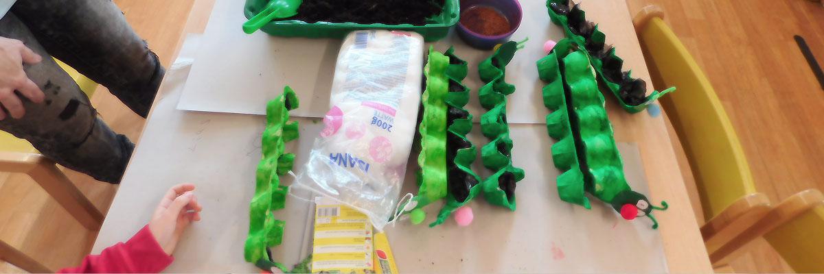 Kresseraupen 2021 - Kindergarten Ameke